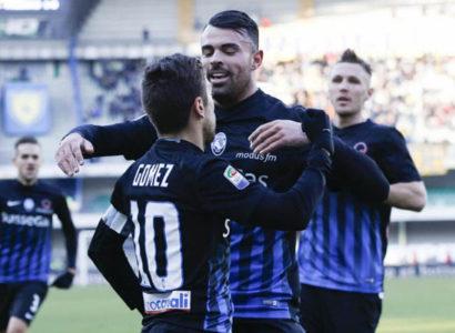 Andrea Petagna, Papu Gomez, Atalanta Serie A 2016/17 - Fonte: Andrea Petagna Twitter