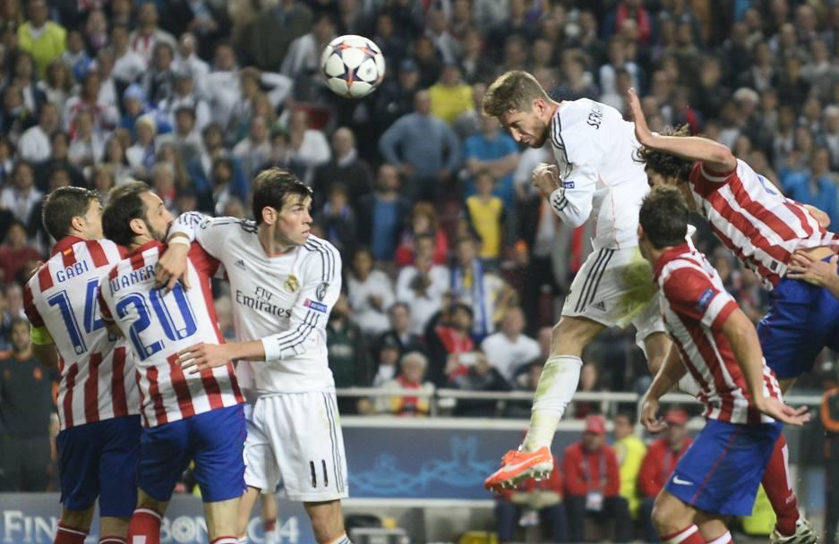 Sergio Ramos minaccia aerea: cronaca di una marcatura impossibile