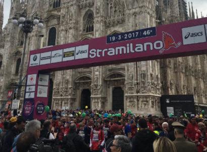 Milano, Piazza Duomo - Stramilano al via
