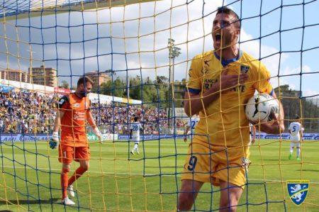 Ciofani Frosinone gol