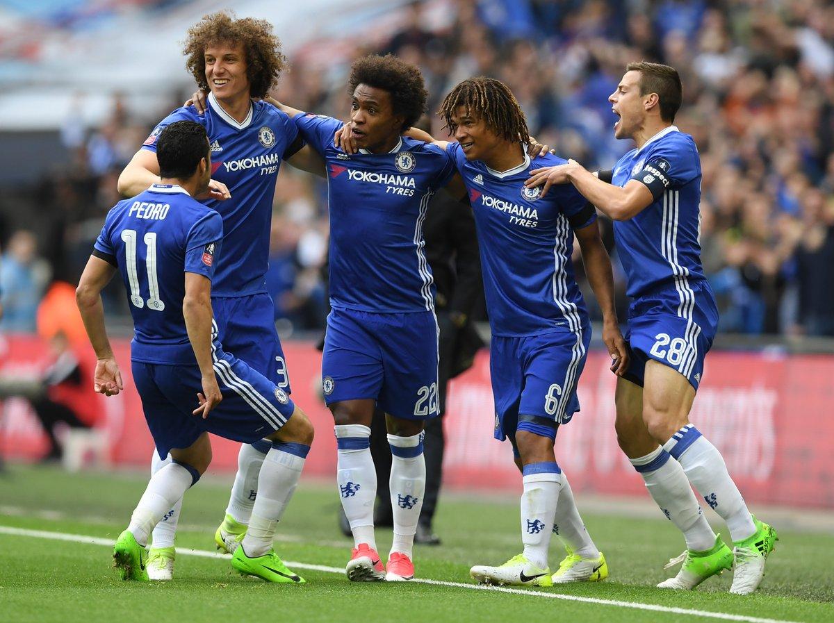 FA Cup, Chelsea in gol contro il Tottenham