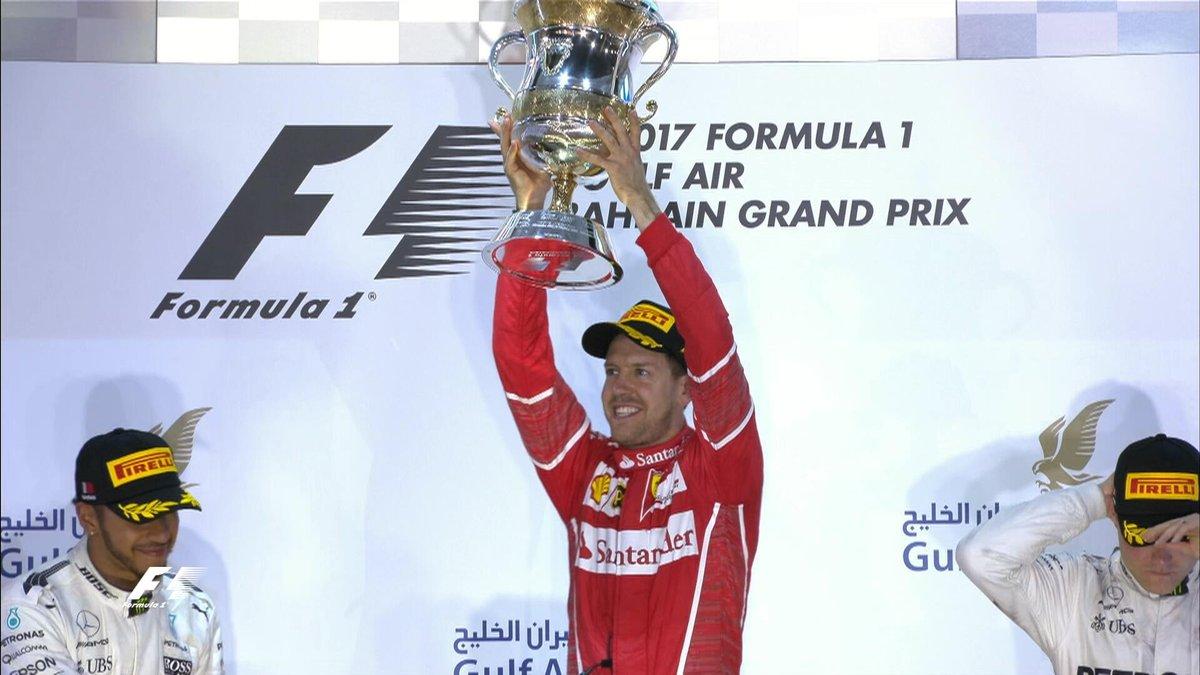 Sebastian Vettel Gp del Bahrain 2017