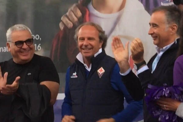 Andrea Della Valle, Pantaleo Corvino e Mario Cognigni, Fiorentina - Fonte: Liga Pro Serie A