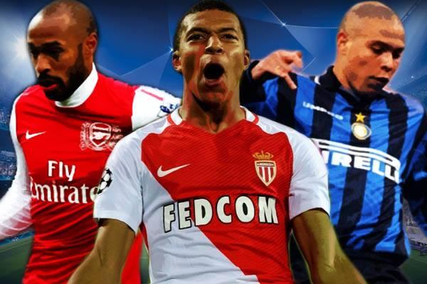 Mbappè Ronaldo Henry