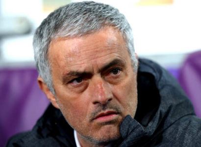 José Mourinho in Anderlecht-Manchester United - Europa League