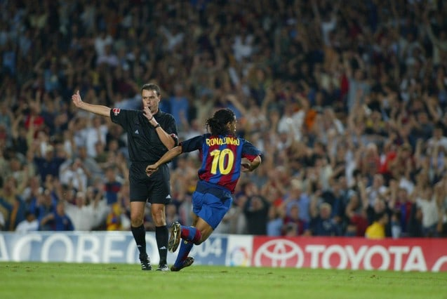 Ronaldinho Barcelona Sevilla