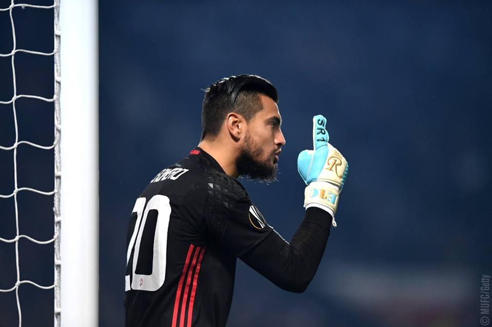 Sergio Romero, Manchester United