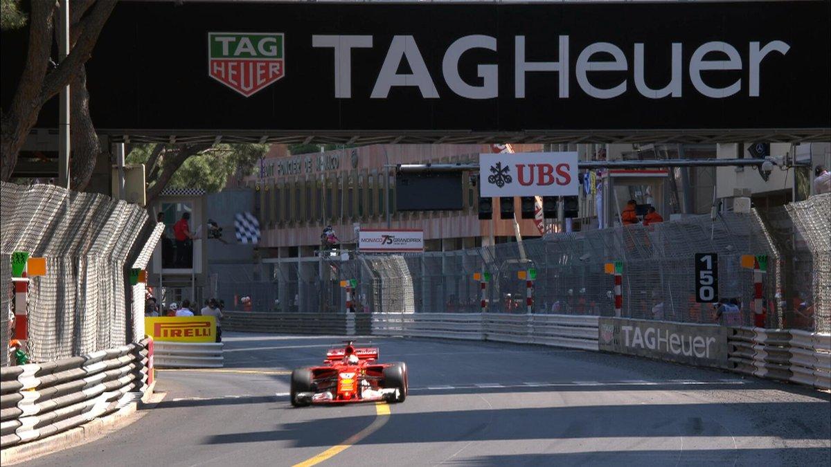 Vettel Monaco GP