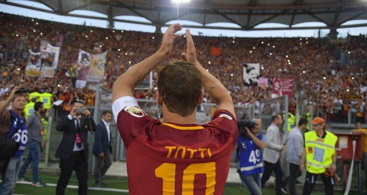 Francesco Totti addio calcio