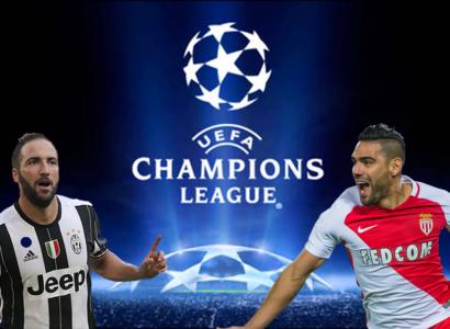 Higuain Falcao Monaco Juventus Champions