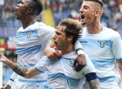 Biglia, Milinkovic-Savic e Keità, Lazio - Fonte: Eurosport\