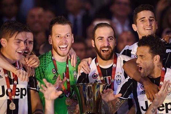Juventus campione coppa italia 2016/2017