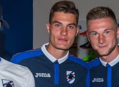 Patrick Schick e Milan Skriniar, Sampdoria - Fonte: Sampdoria Official