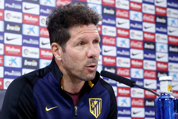 El Cholo Simeone, Atletico Madrid - Champions League