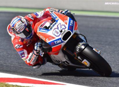 Dovizioso Gp Catalogna MotoGP 2017