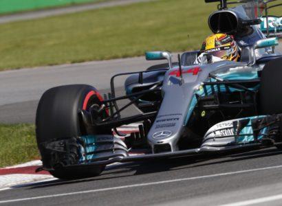 Hamilton qualifiche Gp Canada 2017 F1