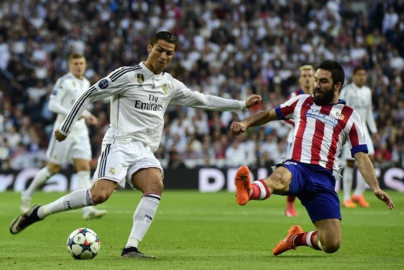 Arda Turan e Ronaldo