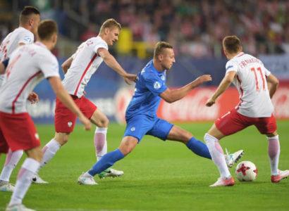 Europei U21 - Polonia-Slovacchia, fase del match - Fonte: UEFA U21 official