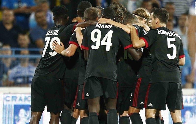 Craiova-Milan Europa League
