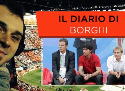 Il diario di Borghi - Il modello tedesco - Jurgen Klopp, Oliver Bierhoff e Jurgen Klinsmann