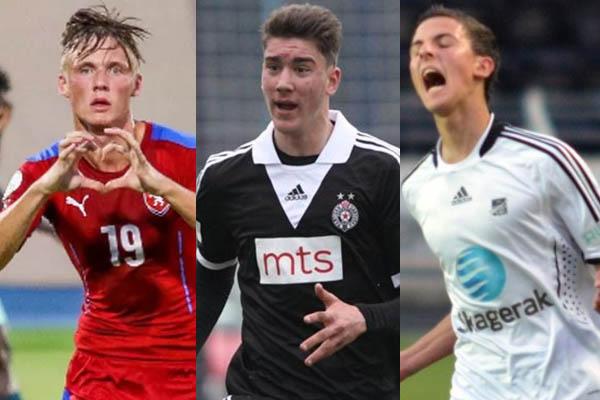 Fiorentina e Calciomercato - Dusan Vlahovic, Rafik Zekhnini e Martin Graiciar