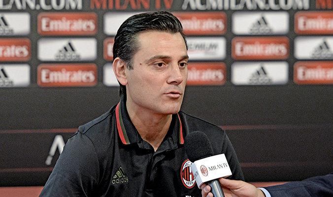 Vincenzo Montella preparazione Milan