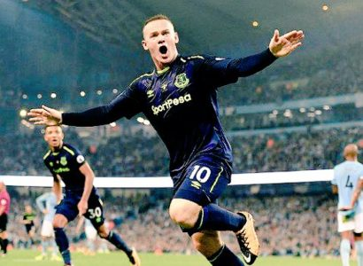 Rooney, Manchester City-Everton
