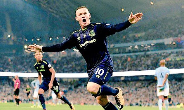Rooney, Manchester City-Everton