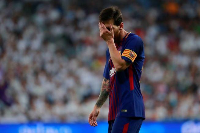 Lionel Messi delusione