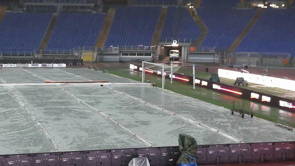 Lazio-Milan maltempo rinvio
