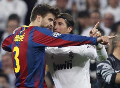 Sergio Ramos e Pique