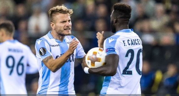 Nizza-Lazio formazioni ufficiali