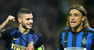 Crespo e Icardi, Inter