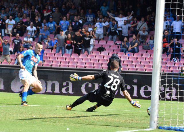 Hamsik Napoli-Cagliari
