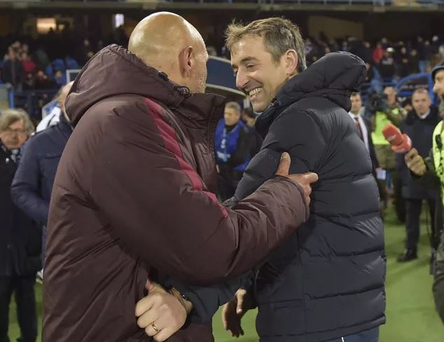 Luciano Spalletti e Marco Giampaolo