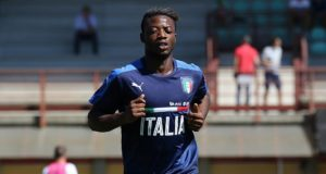 Claud Adjapong, nazionale italiana under 21