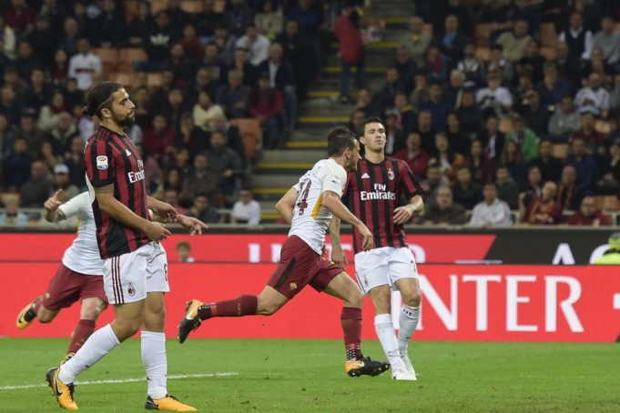 Milan Roma Twitter AS ROMA