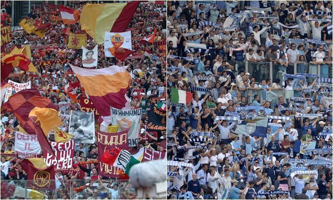 derby Roma Lazio intervista doppia