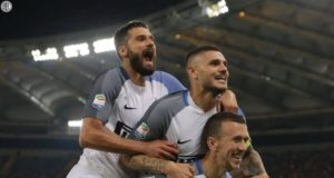 Icardi Perisic Candreva, inter