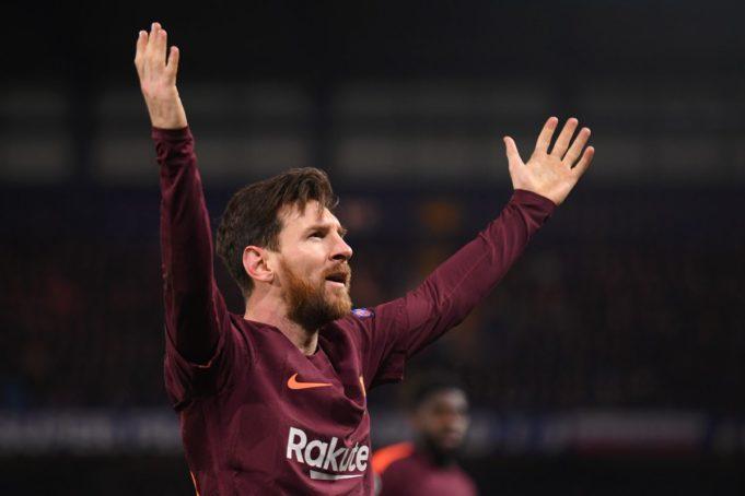 Chelsea-Barcellona Messi