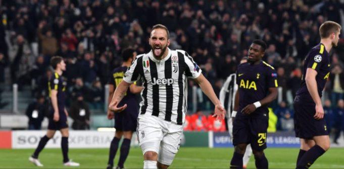 Juventus Tottenham Champions League