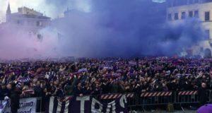 Fiorentina. funerali Astori