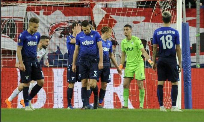 Lazio eliminazione Europa League