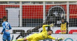 Milan Napoli pagelle tabellino Serie A