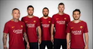 Roma Qatar Airways main sponsor