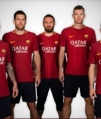 Roma Qatar Airways main sponsor