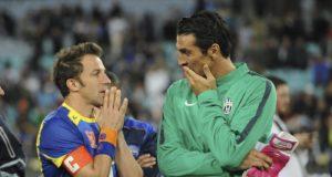 Del Piero Buffon Champions