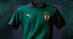 maglia verde rinascimento italia