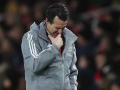 emery esonero arsenal
