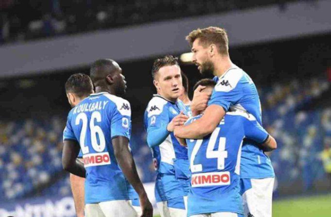 Napoli calciatori multe